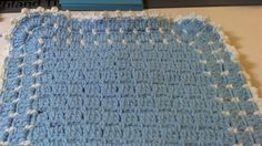 This blanket is probably something you won't see everyday. It looks hard to make but it is easy to complete. This blanket can be made as large or small as yo...