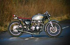 "motographite: HONDA CB750 ""GRAY HUNTER"""