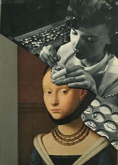 """""""Attention to Detail"""" - collage on paper 