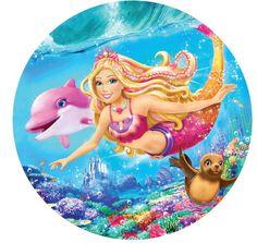 Princesa Ariel Disney, Princesas Disney, Beautiful Profile Pictures, Bolo Barbie, Barbie Cartoon, Mermaid Barbie, Barbie Images, Edible Printing, Mermaid Theme Birthday