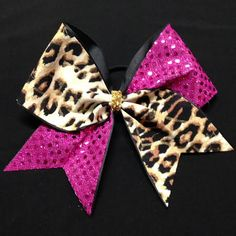 Low SHIPPING Rate  CUSTOMIZE IT Cheer Bow Cheetah by Bowtique781  #cheer #cheerbow #cheerleader #cheerleading #cheerleadingbow