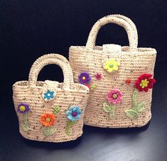 Make matching purses for Mother and Daughter. Just the right size for going out to lunch.