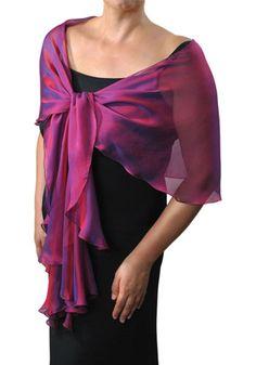 black dress - pink sari wrap?