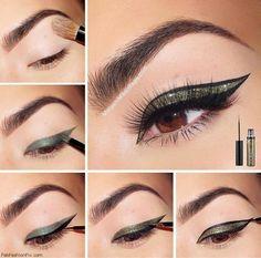 Glitter eyeliner inspiration