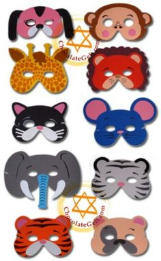Soft Foam Animal Masks (Case of Foam Crafts, Paper Crafts, Diy Crafts, Theme Carnaval, Crafts For Kids, Arts And Crafts, Felt Mask, Carnival Masks, Animal Costumes