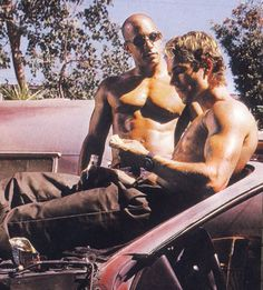 Dominic & Brian - The Fast and the Furious #OHMYGOD #JustcheckingouthowBlessedtheyare