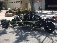 My VTX1800 Reverse Trike