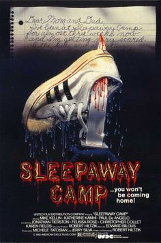 10 movies to watch this halloween!  1. deep red  2. black christmas  3. behind the mask  4. halloween 4  5. cabin in the woods  6. demons   7. return of the living dead  8. sleepaway camp  9. they live  10. dead alive
