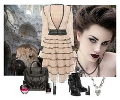 """Goth Couture"" by katiethomas-2 ❤ liked on Polyvore"