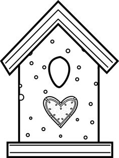 Bird House Coloring Pages 302