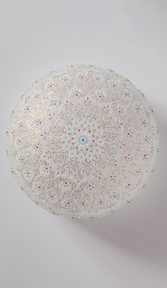 I don't know if this is a lamp shade, but it would make a pretty one! Cut Glass, Glass Art, Japan Crafts, Fashion Painting, Glass Design, Creative Crafts, Japanese Art, Ceramic Art, Decorative Bowls