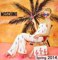Moschino - Spring 2014 Equipe San Marcellino  Corso Europa, 161 San Marcellino (CE) www.equipesanmarcellino.com  info@equipesanmarcellino.com Ph: +39.081 504 10 86