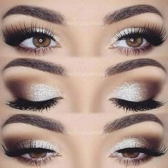 Eye Makeup - Prom makeup is one of the first major challenges of the beauty world that is waiting for you soon. See our makeup ideas for such a significant event as prom to go as smoothly as possible. - Ten (10) Different Ways of Eye Makeup