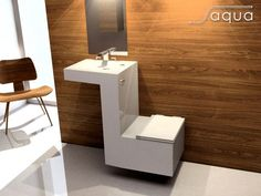 15 Great Toilet Sink Combo Ideas For Best Bathroom Design The bathroom disappears just a location for one's personal health. Today's layout opportunities for restrooms are endless. Toilet And Basin Unit, Sink Toilet Combo, Toilet Vanity Unit, Toilet Sink, Vanity Units, Tiny Bathrooms, Tiny House Bathroom, Amazing Bathrooms, Small Toilet Room