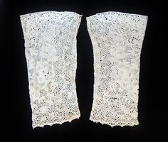Antique Hand Made LACE Victorian Era SLEEVES  by PremierAntiquesNY, $125.00