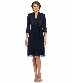 For the wedding  Le Bos Jacket Dress #Dillards