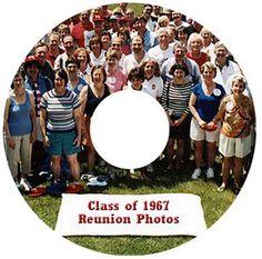 Class Reunion Souvenirs   class reunion gifts_Photo CD labels for reunions,400 _Class Reunion ...