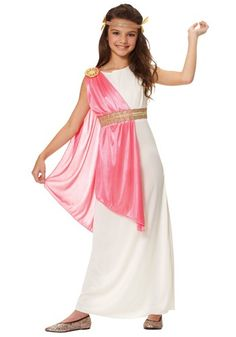 Ancient Roman Empress Costume -  saw this on a blog and was so cute.