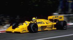 Ayrton Senna - 1987 Lotus Camel