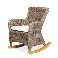 All-weather wicker is ideal for a coastal porch.