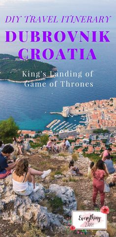 DIY Travel Itinerary to Dubrovnik, Croatia (King's Landing of Game of Thrones) Dubrovnik, Croatia is a charming medieval town along the Dalmatian coast. When you see Dubrovnik you'll know why they call it the Pearl of the Adriatic. Back in the 14th to 19th centuries, Dubrovnik had been an independent state called the Republic of Ragusa. The beautiful Dubrovnik beaches are definitely worth visiting if you want to chill and relax. Walking around the marble street and climbing the Dubrovnik cit