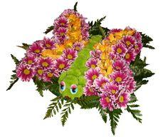 Gallery.ru / Фото #16 - игрушки из живых цветов - semynova