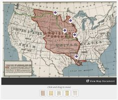 Taking a closer look at Lewis & Clark's Expedition out West: Students will analyze primary sources demonstrating various political interests in the West, including the Spanish, French, British, and those of several Native American groups, and place them on a historic map of the West (created for the centennial of the Louisiana Purchase).