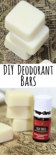 Ditch your toxic, commercial deodorant in favor of these easy DIY deodorant bars!