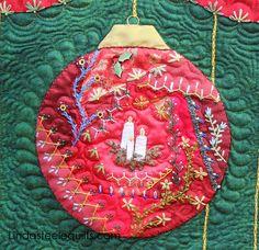 Linda Steele Quilt Blog: Christmas Crazy