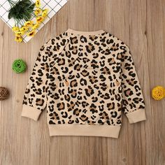 The cutest trendiest sweaters and cardigans for your baby girl! Come in all colors and styles! Jumper Outfit, Valentine's Day Outfit, Sweater Shirt, Cheetah Cardigan, Long Sleeve Tops, Long Sleeve Shirts, Leopard Outfits, Reindeer Sweater, Rainbow Sweater