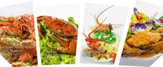 Long Beach Seafood Restaurant (famous for their pepper & chili crabs, they seem delicious!)