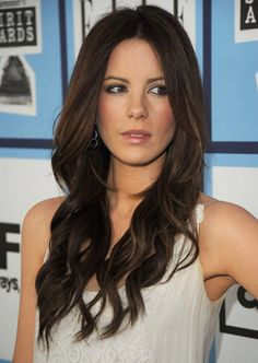 Kate Beckinsale - I think she's in the top for 'most beautiful celebrity'
