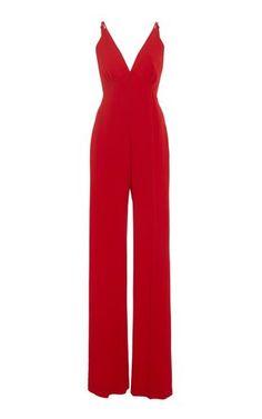 35e32bae46d Plunging Neckline Jumpsuit by Jenny Packham Resort 2019 Jenny Packham