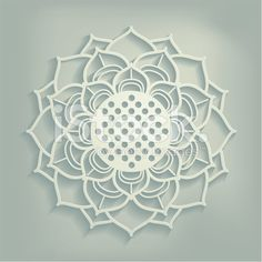 stock-illustration-50458024-ornamental-lotus-flower-paper-cut-.jpg (556×556)