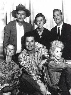 The Beverly Hillbillies cast -- Buddy Ebsen, Irene Ryan,  Max Baer, Jr., Donna Douglas, Raymond Baily and Nancy Kulp