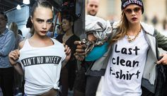 Street Fashion: Big Sloppy T-shirts are the hottest fall look ...