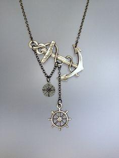 Auf dem Meer verloren Halskette von SBC von sandybeachcollection