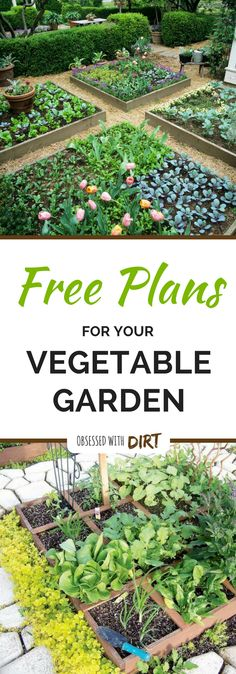Four super easy vegetable garden layouts. There's one for every size garden with very clear instructions and a free planting plan too! Read more
