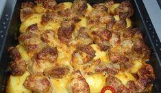 Labužnícky bravčový pekáč: Na tomto obede si pochutná celá família! Ham, Cauliflower, Macaroni And Cheese, Nom Nom, French Toast, Recipies, Food And Drink, Chicken, Vegetables