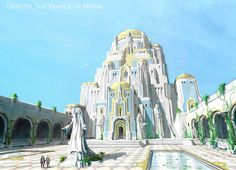 The Temple Of Mitra | Video Games Artwork