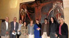 Roberto Mangú expose au prieuré Saint Étienne