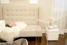 Miss Liz Heart: New Sitting Area & Repurposing Furniture