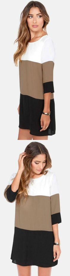 Casual Mini Party Dress! Click The Image To Buy It Now or Tag Someone You Want To Buy This For.  #CasualDress