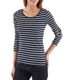 T-shirt femme marinière - TEE SHIRT Femmes Camaïeu