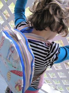indietutes: snack backpack