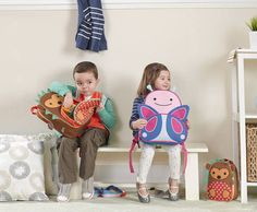 Send your littlest animal lover off with one of the super cute new backpacks for kids from mom-favorite brand Skip*Hop. Of course, we vote for the hedgehog. Boys Lunch Bags, School Bags For Kids, First Day Of School, Pre School, Back To School, Skip Hop Zoo, Kindergarten, Cool Mom Picks, Travel Necessities
