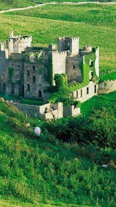 Clifden Castle, Ireland.