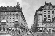 Ilyen is volt Budapest - évek eleje, Boráros tér, Szemben a Lónyay utca Budapest, Hungary, Old Photos, The Past, Utca, Louvre, Marvel, Building, Beautiful