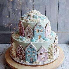 5,370 отметок «Нравится», 152 комментариев — 🍰 ДОМАШНИЕ торты и 🍭пирожные (@marisha_with_love) в Instagram: «Всем спасибо за поздравления🎉🎉🎉 Наконец- то покажу именинный торт ко Дню рождения моего сына❄❄❄ Вес…»