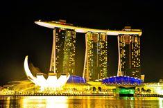 Infinite Pool in Hotel Marina Bay Sands, Singapore